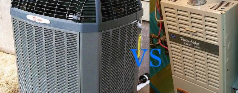 heat pump vs furnace